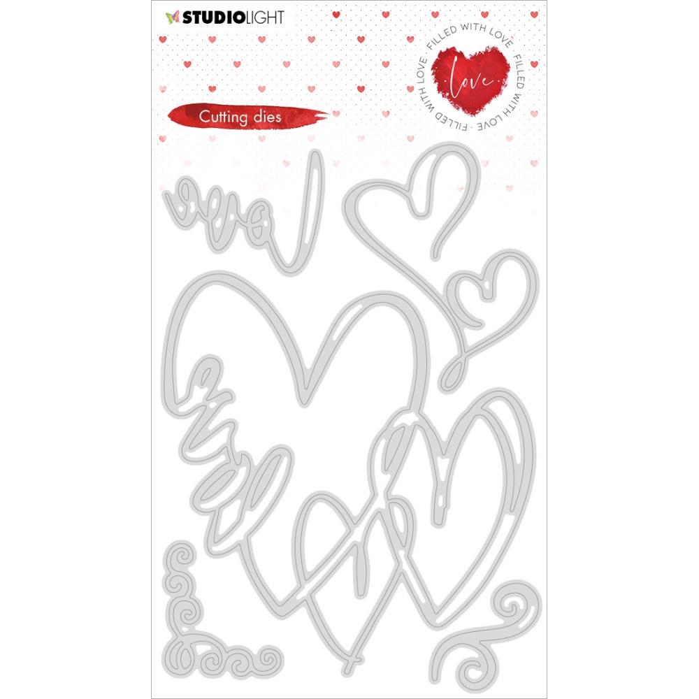 Studio Light Filled With Love Cutting Die - NR. 351