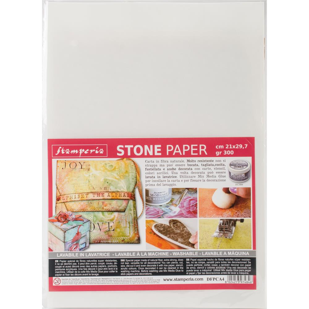 Stamperia Washable Stone Paper 21cmX29.7cm