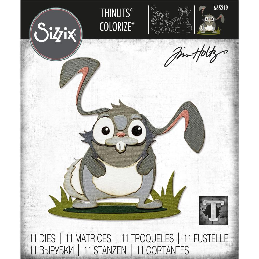 Sizzix Thinlits Dies By Tim Holtz - Oliver Colorize