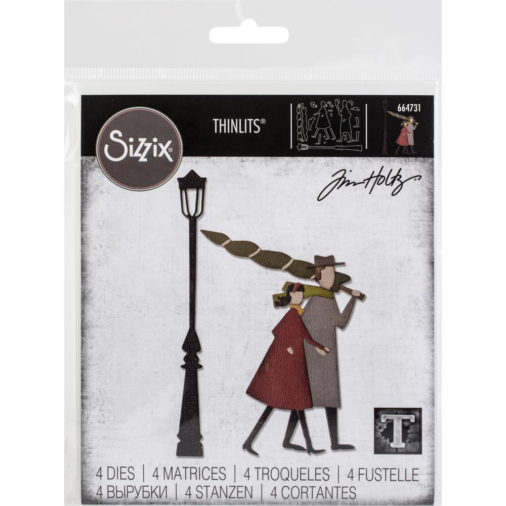 Sizzix Thinlits Dies By Tim Holtz - Christmastime