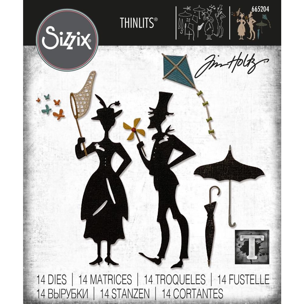 Sizzix Thinlits Dies By Tim Holtz - The Park