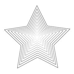 Honey Bee -Stacking star - Die
