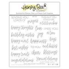 Honey Bee -Pickup lines - Stempel og Die