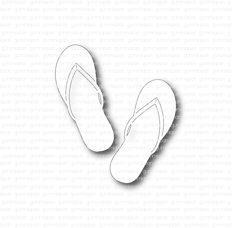 Gummiapan - Flip Flops - Dies