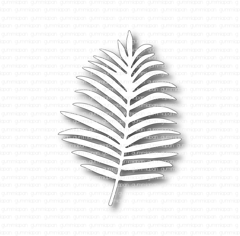Gummiapan - Palmblad, Venstre - Dies
