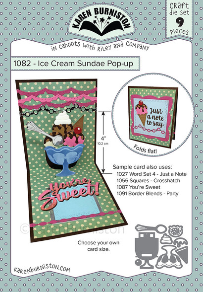 Karen Burniston Dies - ICE CREAM SUNDAE POP-UP