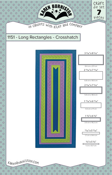 Karen Burniston Dies - LONG RECTANGLES - CROSSHATCH