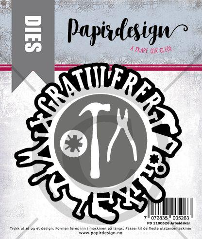 Papirdesign -  Arbeidskar - PD 2100526