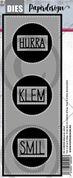 Papirdesign - Slimcard sirkler  - PD 2100500