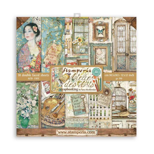 Stamperia - Atelier des Arts- 12x12