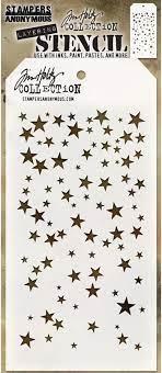 Tim Holtz Layered Stencil - Falling stars - Hocus Pocus