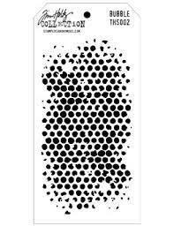 Tim Holtz Layered Stencil - Bubble -