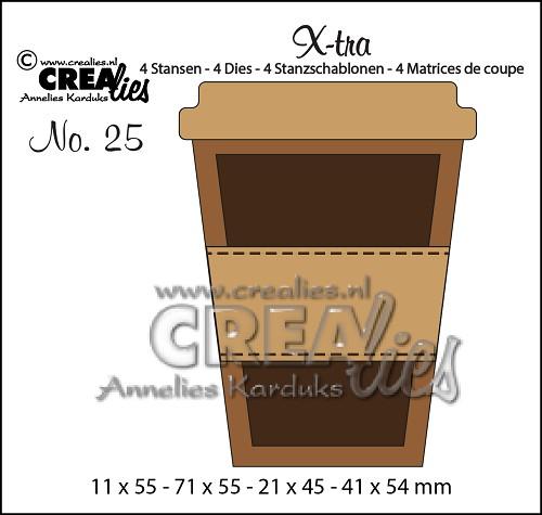 Crealies - Mug to go - Small