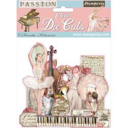 Stamperia -Passion - Die cut - clear