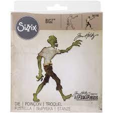 """Sizzix Bigz Die By Tim Holtz 5.5""""X6"""" - Lost zombie"""