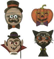 Sizzix - Thinlits - Hallowen hipster