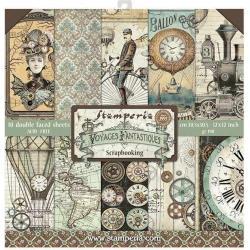 Stamperia - Voyages Fantastiques - 12x12