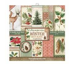 Stamperia - winter botanic - 12x12