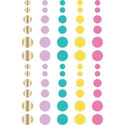 Magical Birthday Enamel Dots Embellishments 60/Pkg