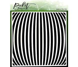 Picket Fence Studios Movement 6x6 Inch Stencils