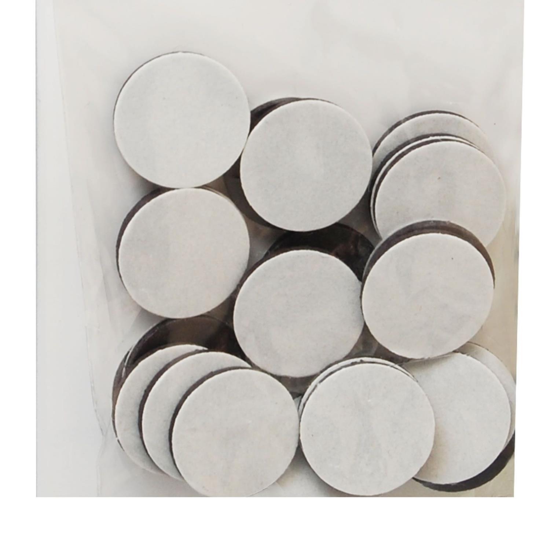 Magneter med lim - 12mm x 1mm x25
