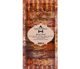 Paper Favourites Rusty Metal Slim Paper Pack