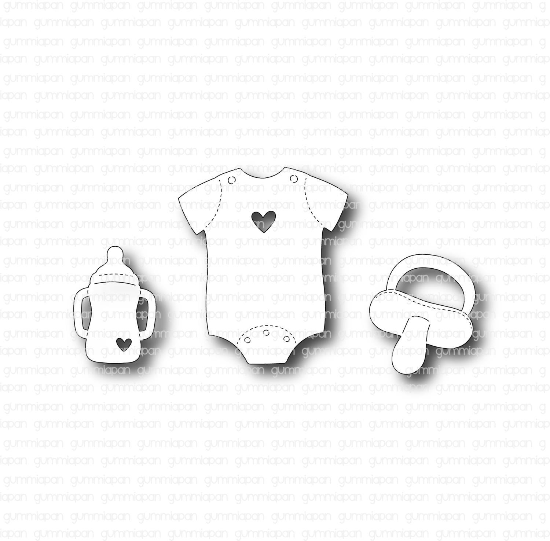 Gummiapan - Babyset -Dies