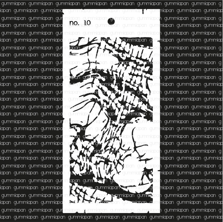 Gummiapan -Stencil nr 10