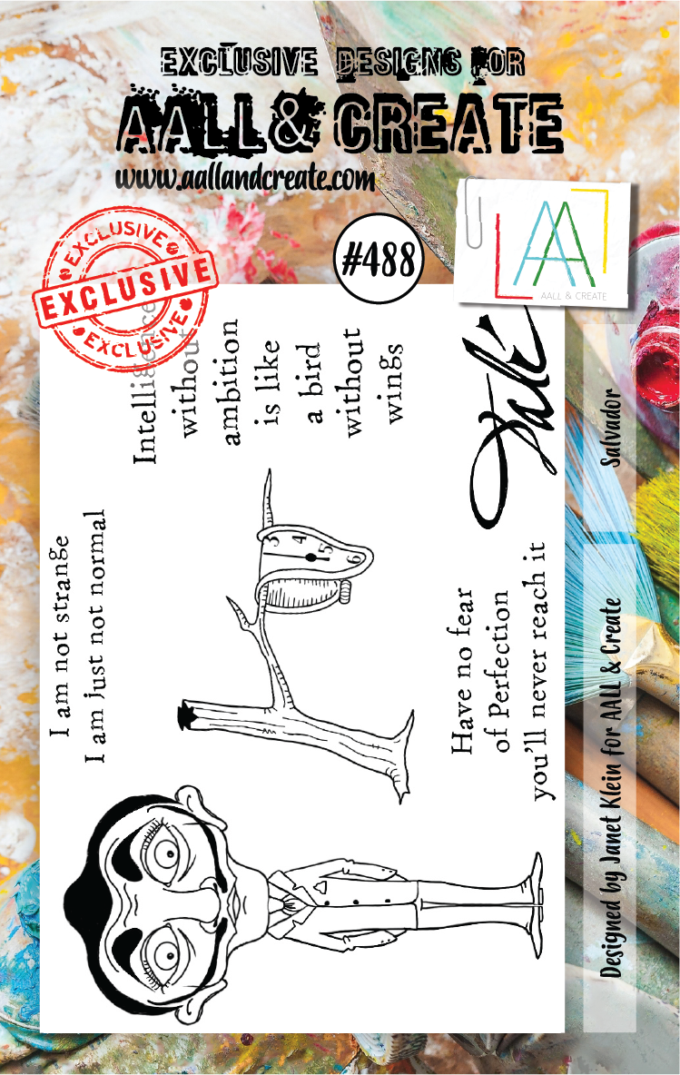 AAll&Create - A7 STAMP - Salvador - #488
