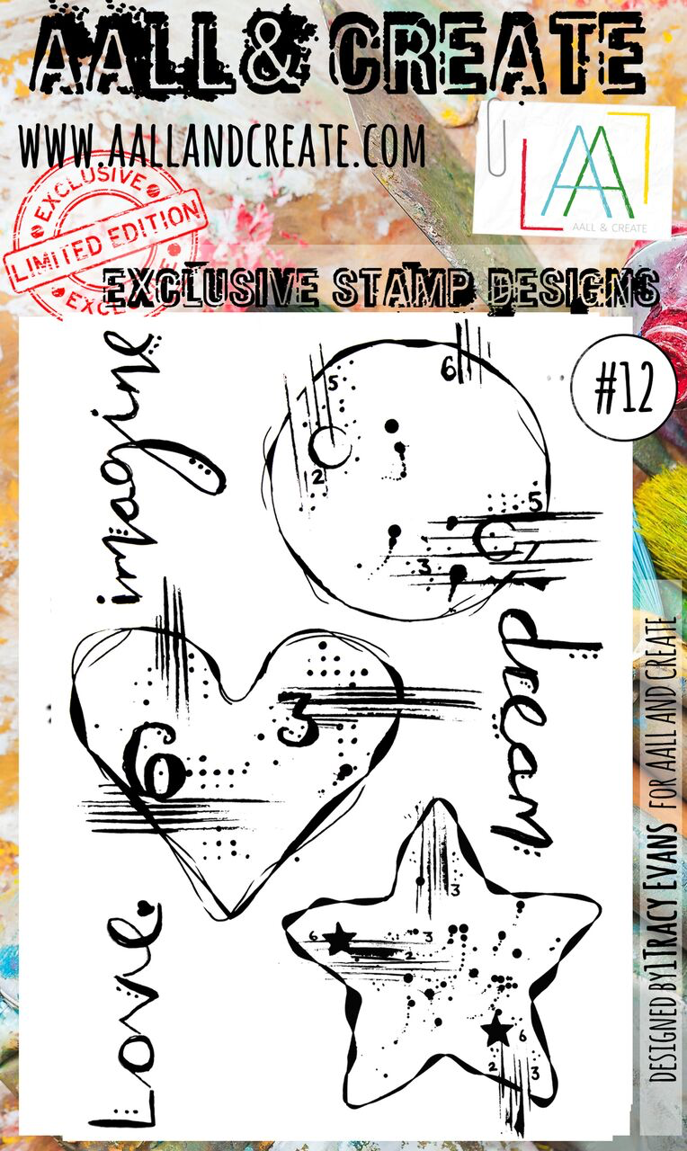 AAll&create - A6 STAMPS  - #12