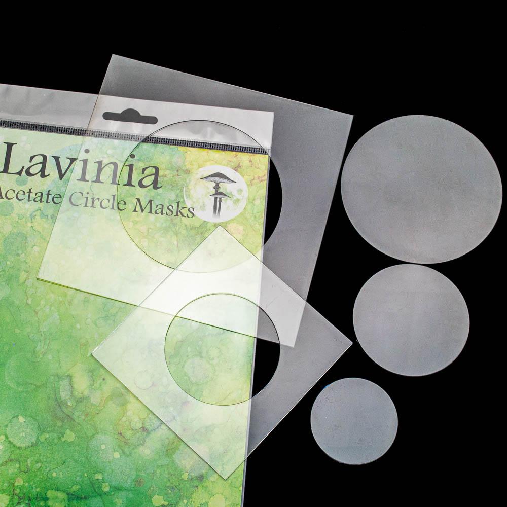 Lavinia - Acetate Circle Masks