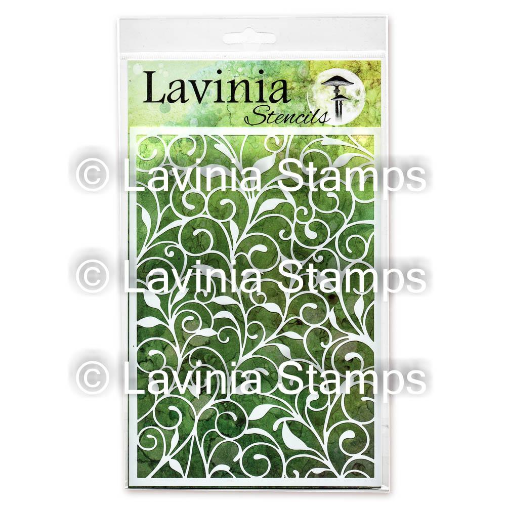 Lavinia -Leaf Trails - Lavinia Stencils