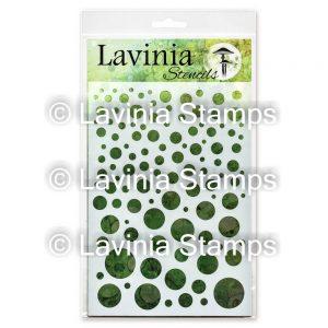 Lavinia -White Orbs - Lavinia Stencils