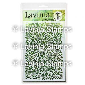 Lavinia -Feather Leaf - Lavinia Stencils