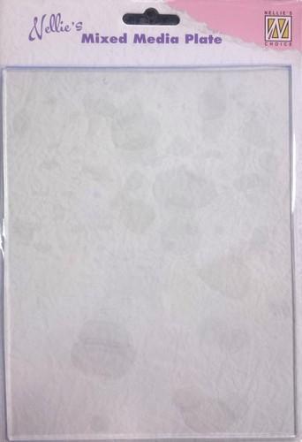 Nellies Choice Gelplate transparent  -A5