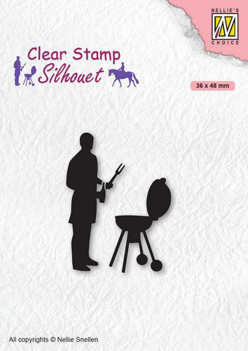 Nellies Choice - Clearstamp - Silhouette Barbecue