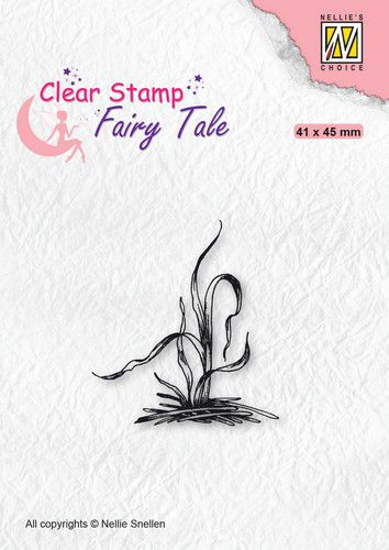 Nellies Choice - Clearstamp - Silhouette Fairy Tale Grass