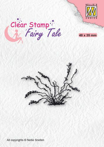 Nellies Choice - Clearstamp - Silhouette Fairy Tale Herbs