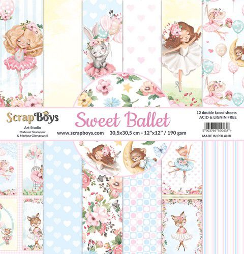 ScrapBoys - Sweet Ballet  12 x 12
