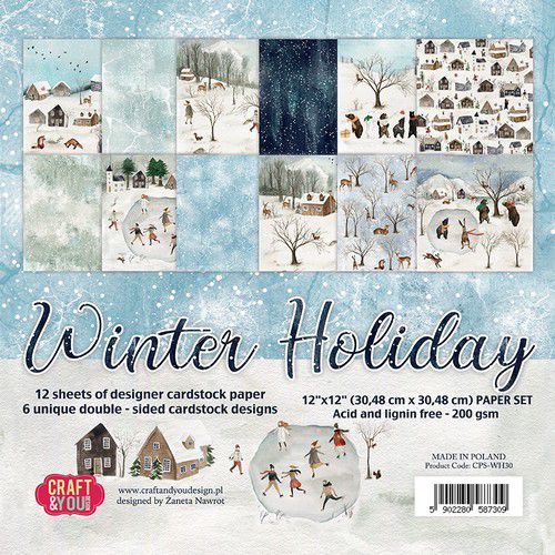 Craft&You  - Winter Holiday  12x12