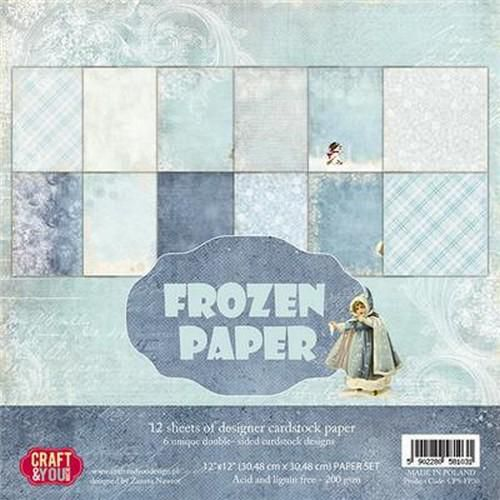 Craft&You  - Frozen -   12x12