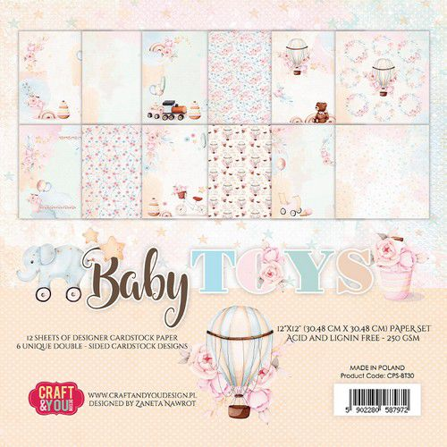 Craft&You  - Baby Toys -  12x12
