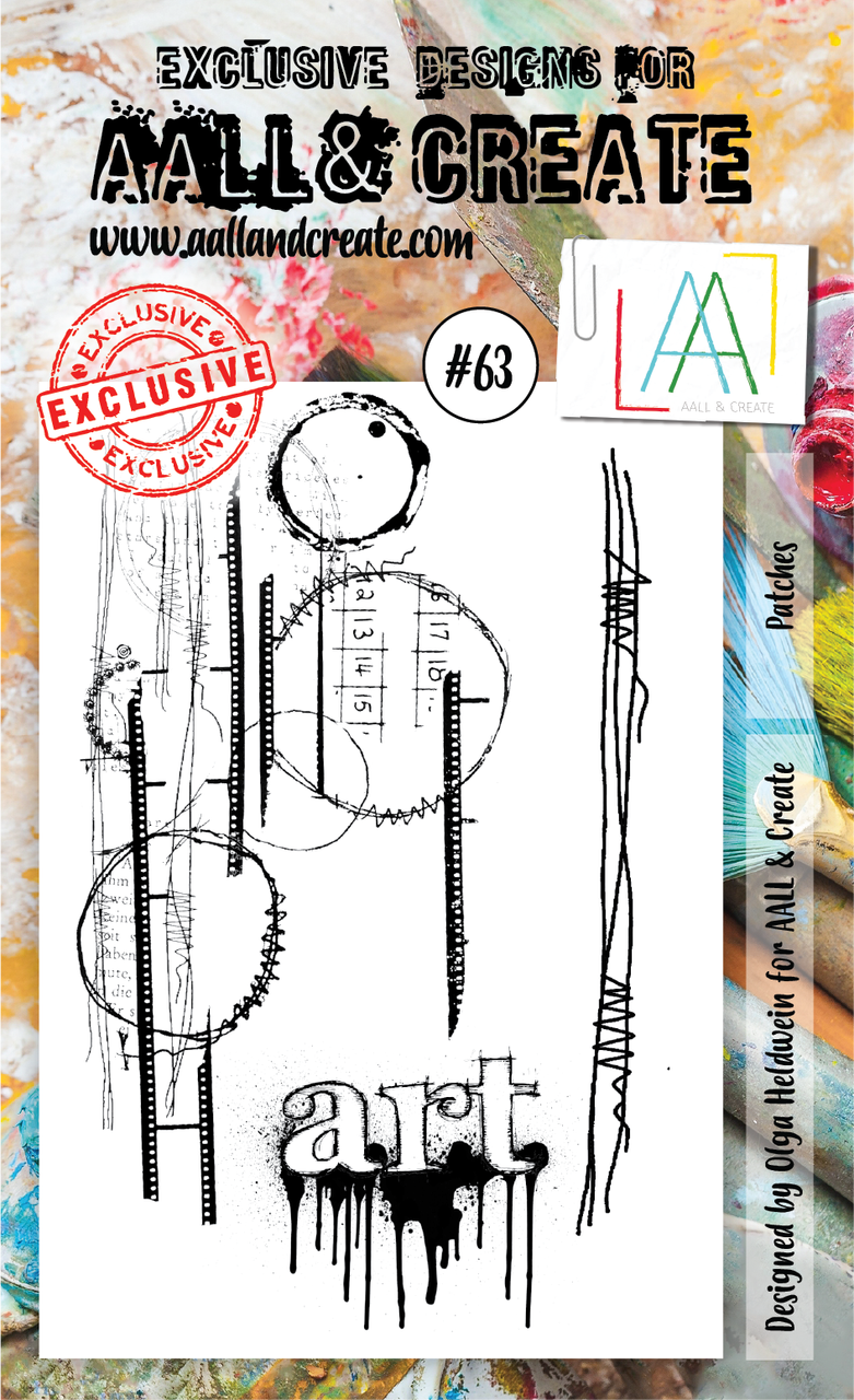 AAll&create - A6 STAMPS - Patches - #63
