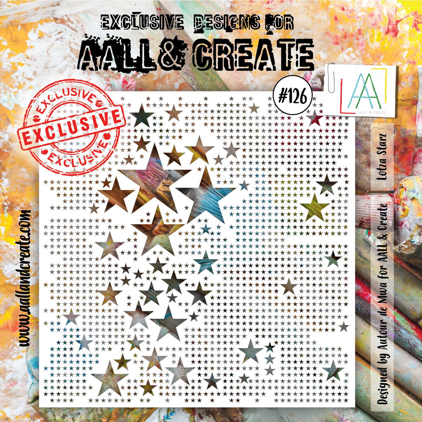 Aall&Create - 6 x 6 - #126 - Lotz< Starz