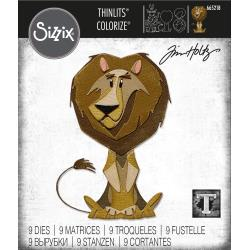 Sizzix Thinlits Dies By Tim Holtz -Harrison, Colorize