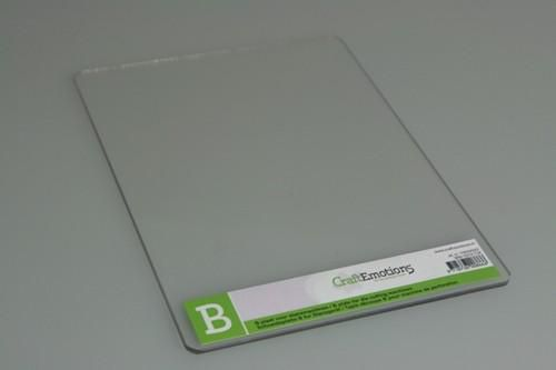 CraftEmotions C plate for die cutting machines 3mm