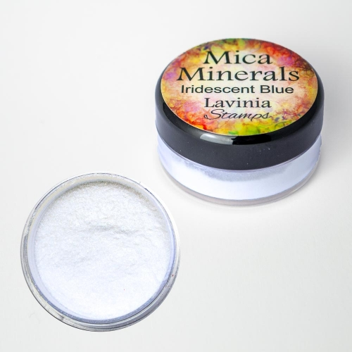 Lavinia - Mica Minerals – Iridescent Blue