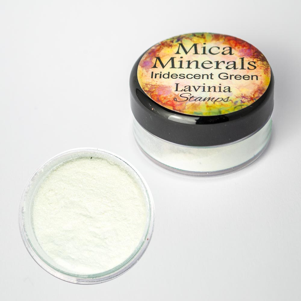 Lavinia - Mica Minerals – Iridescent Green