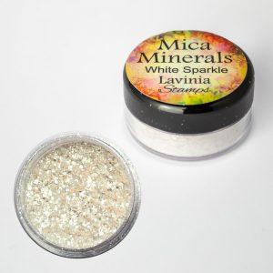Lavinia - Mica Minerals – White Sparkle