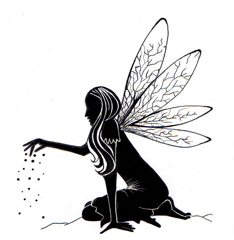 Lavinia - Fairy Dust Silhouette - LAV125